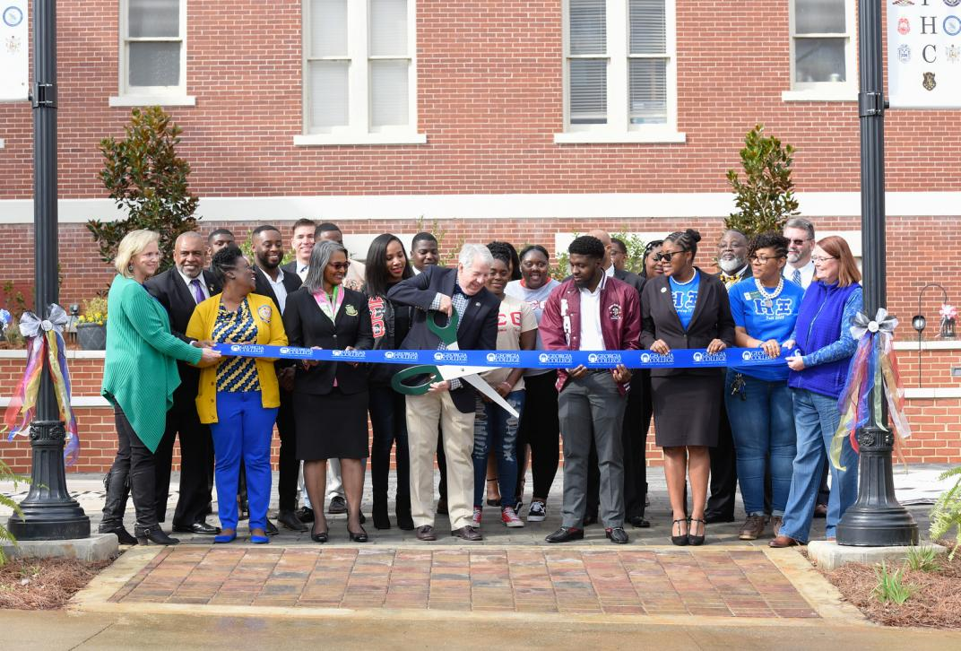 National Pan-Hellenic Council Plaza Ribbon Cutting