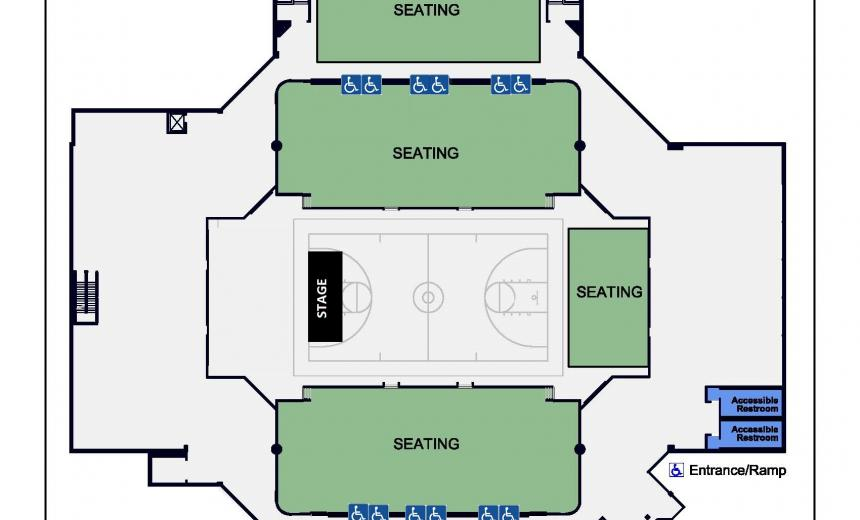 centennial_center_accessible_seating map