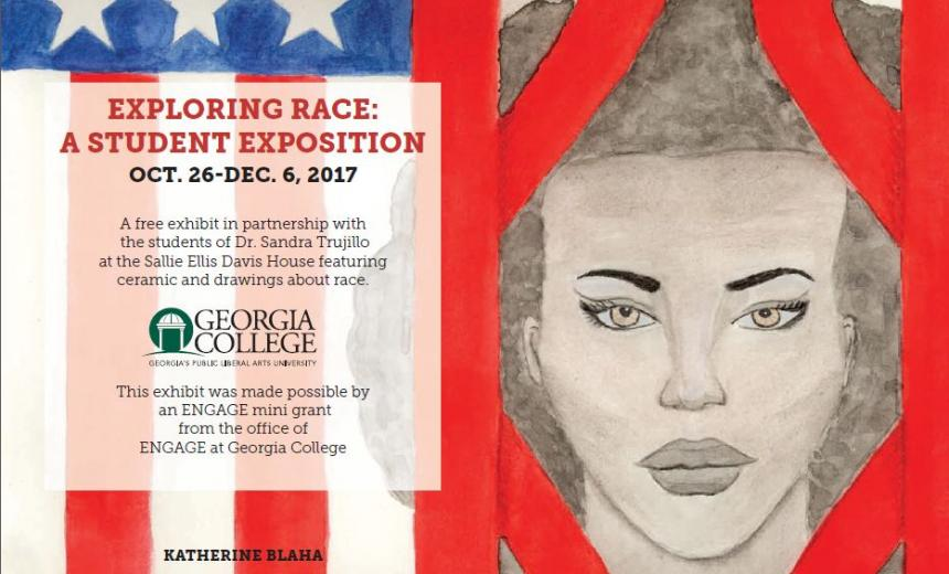 Exploring Race: A Student Exposition Graphic