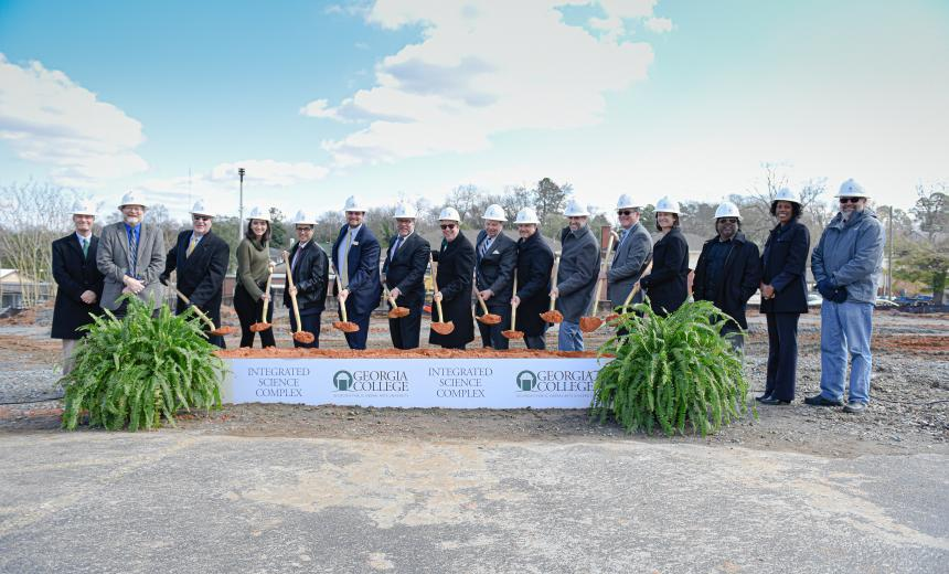 Integrated Science Complex Ground Breaking