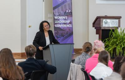 presenter at Women's Leadership Conference
