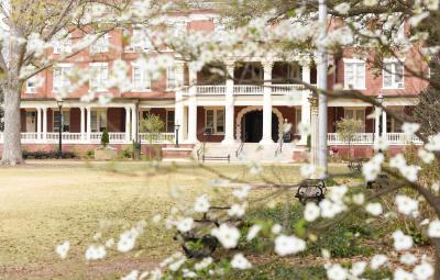 Terrell Hall in the Spring