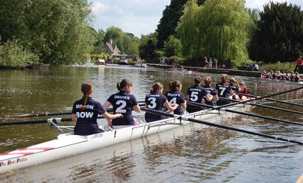 rowers actively racing