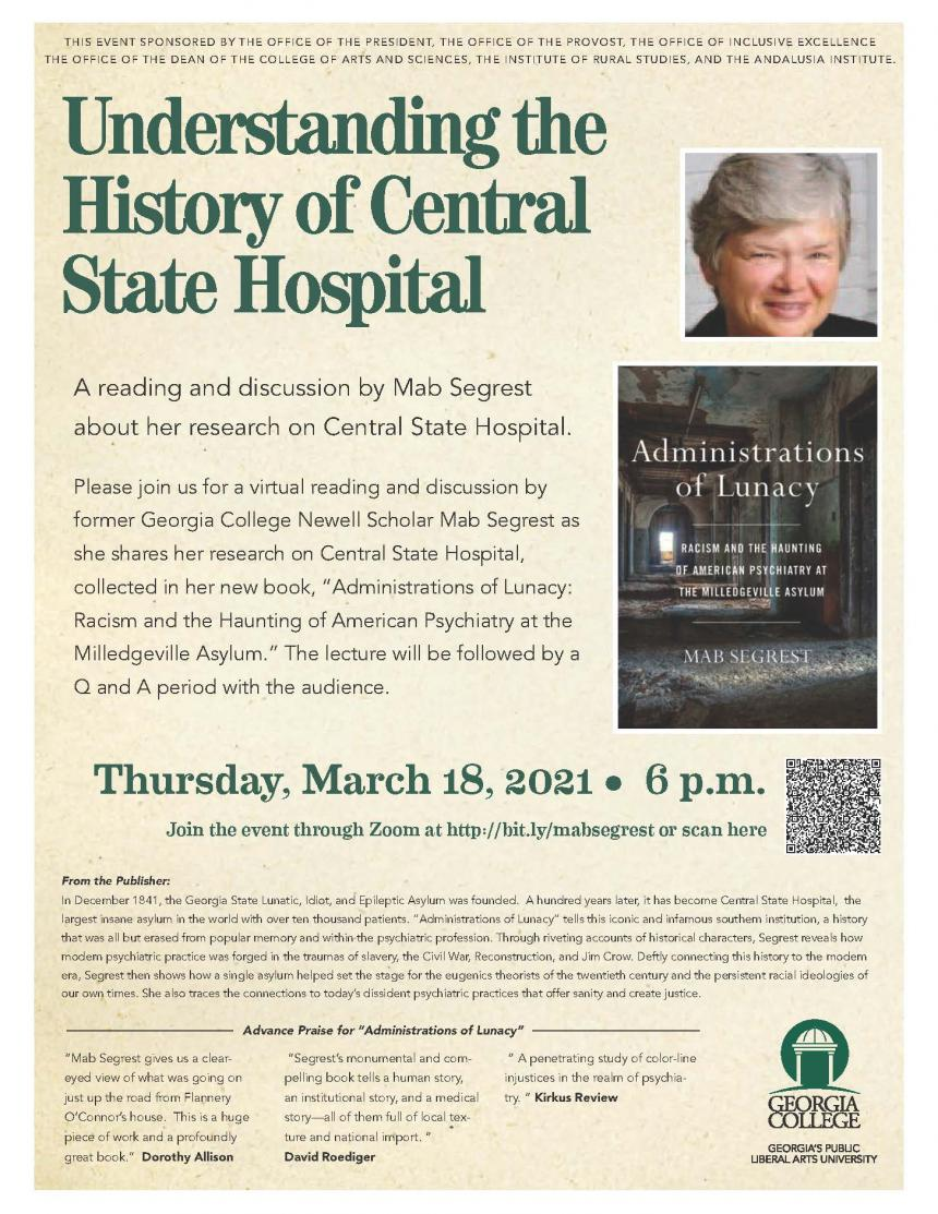 Understanding the History of Central State Hospital