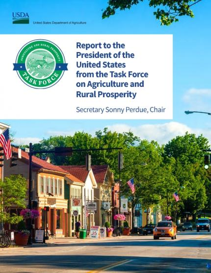 Report to the President of the United States from the Task Force on Agriculture and Rural Prosperity