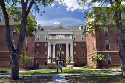 picture of the residence hall