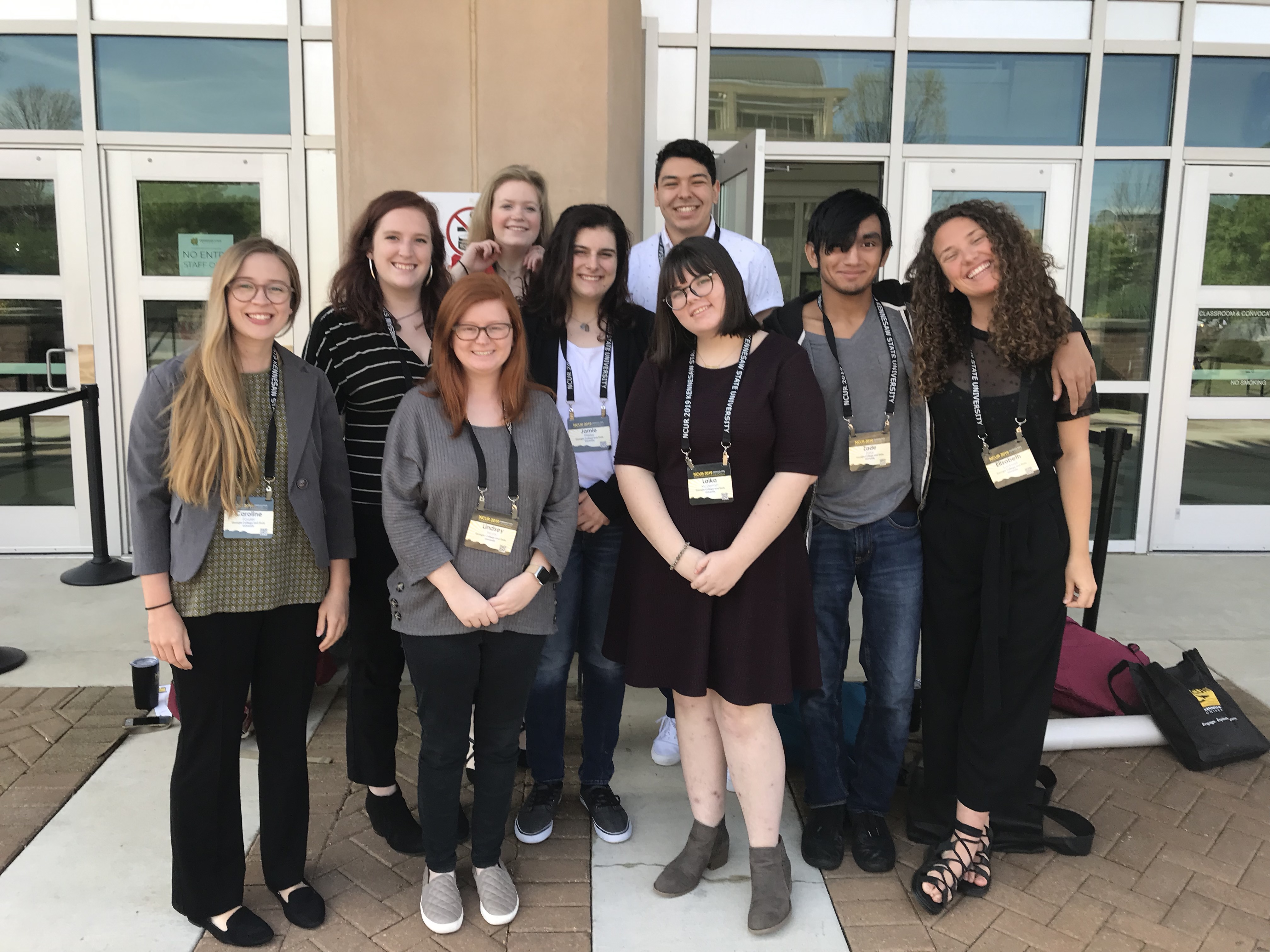 Students at NCUR 2019