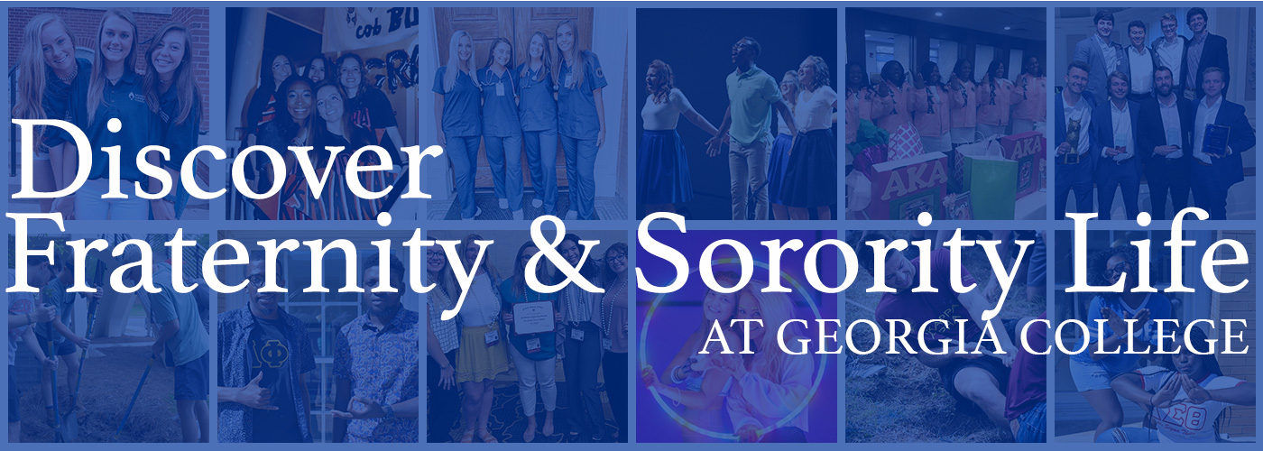 Discover Fraternity & Sorority Life at Georgia College