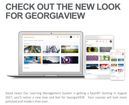 Screenshot of new Daylight interface for GeorgiaVIEW